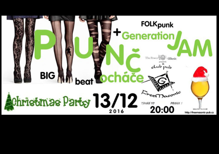 Punčocháče a GenerationJam - FreeMasonic Club Pub - 13.12.2016